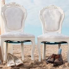 trouwen op t strand